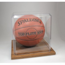 KH5 Oak Base Basketball Display