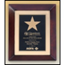 P4269 Cherry finish frame plaque