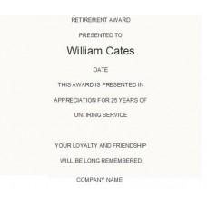Retirement #1 Layout
