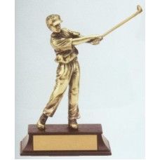RFG50 Golf Resin Figure