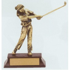 RFG55 Golf Resin Figure
