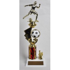 SOC09 Soccer Shooting Star Trophy