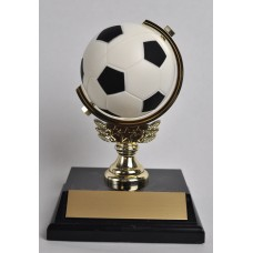 SOC10 Soccer Spinner Trophy