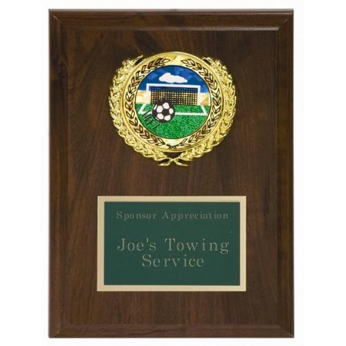 coaches recognition plaque 5 x 7
