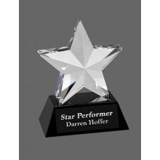 Crystal 3-D Star